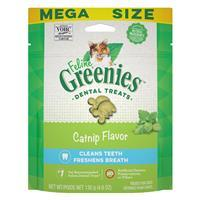 Feline Greenies Dental Treats Catnip Flavor I022739b