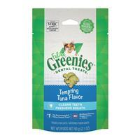 Feline Greenies Dental Treat Tempting Tuna Flavor I022745