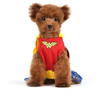 Fetch for Pets Wonder Woman Hooded Costume Dress I022887b