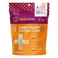 Daily Dose Heart Health Dental Chew for Dogs I023008