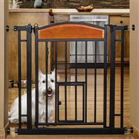 Carlson Pet Products Design Paw Auto Close Pet Gate  I023251