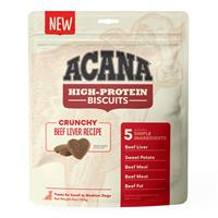 Acana High Protein Biscuits Crunchy Beef Liver Recipe  I023665b