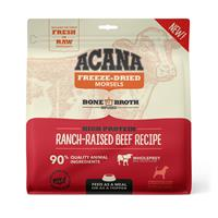 Acana Freeze Dried Food High Protein Ranch-Raised Beef Recipe for Dogs 8 oz. I023673