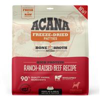 Acana Freeze Dried Patties High Protein Ranch-Raised Beef Recipe for Dogs 14 oz. I023678