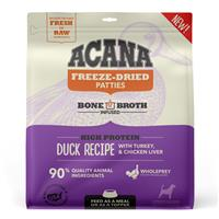 Acana Freeze-Dried Patties High Protein Duck with Turkey & Chicken Liver Recipe for Dogs 14 oz. I023680