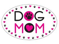 Dog Speak Dog Mom Oval Shaped Magnet I023834