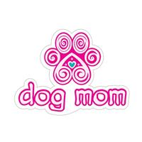 Dog Speak Dog Mom Decal I023860