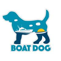 Dog Speak Boat Dog Decal I023868