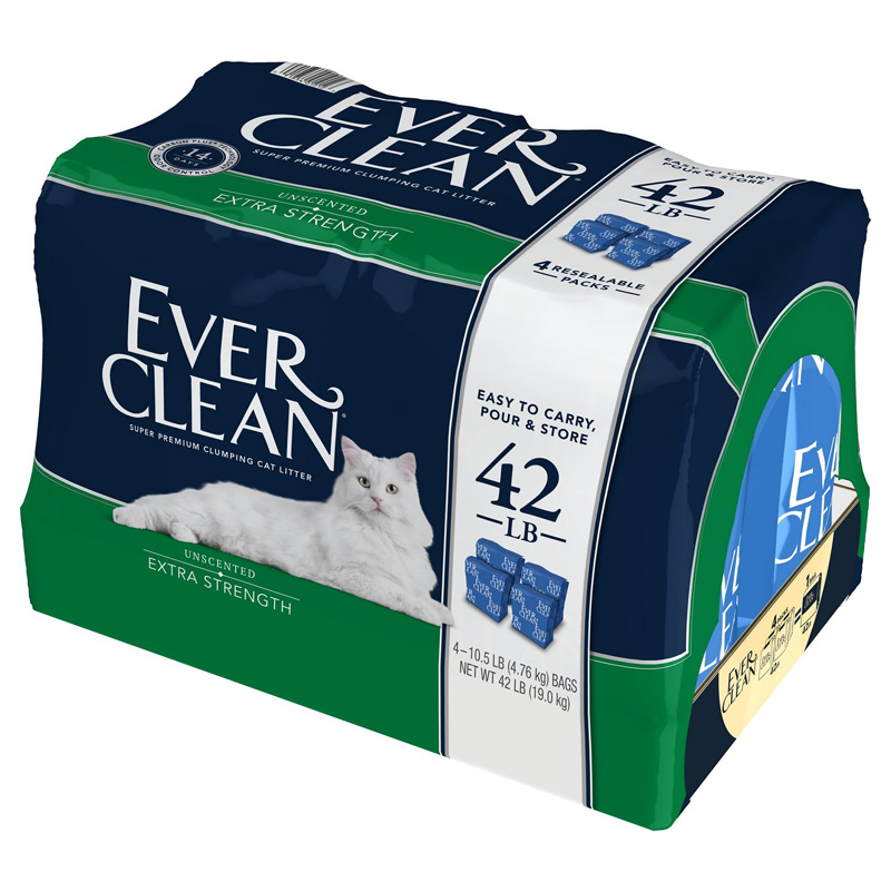 Ever Clean EXtra Strength Unscented Clumping Clay Cat Litter 42 Z09185460417