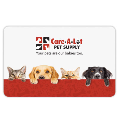Care A Lot Pet Lovers Gift Card GCACT-GENERICe