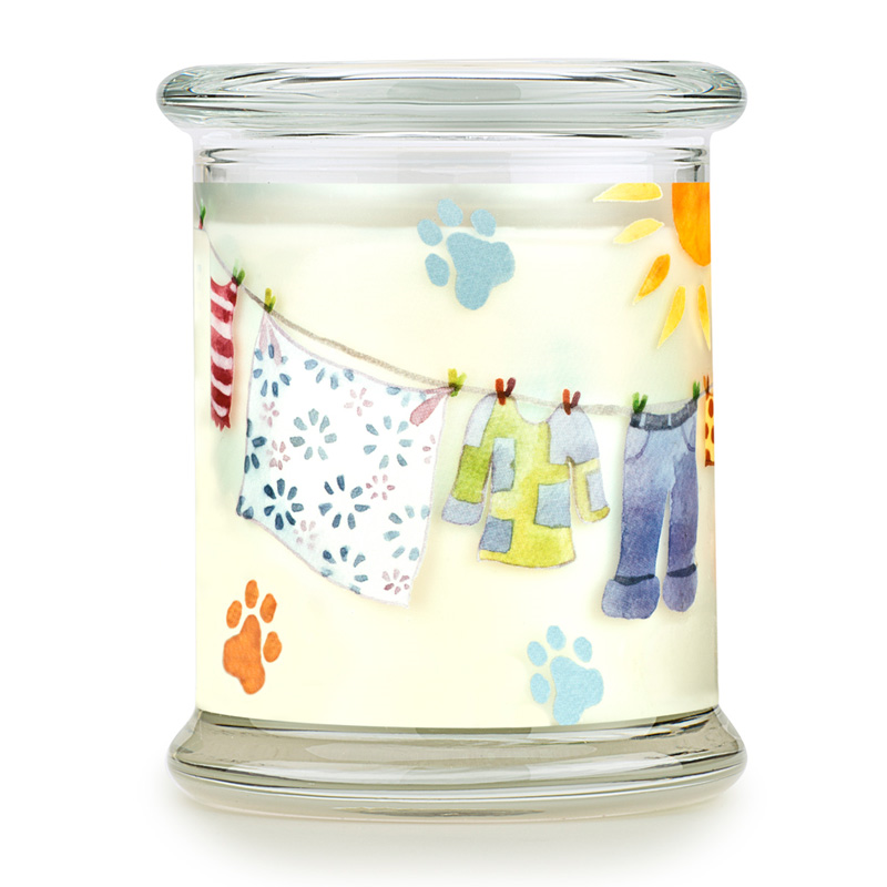 Pet House Candle Sunwashed Cotton