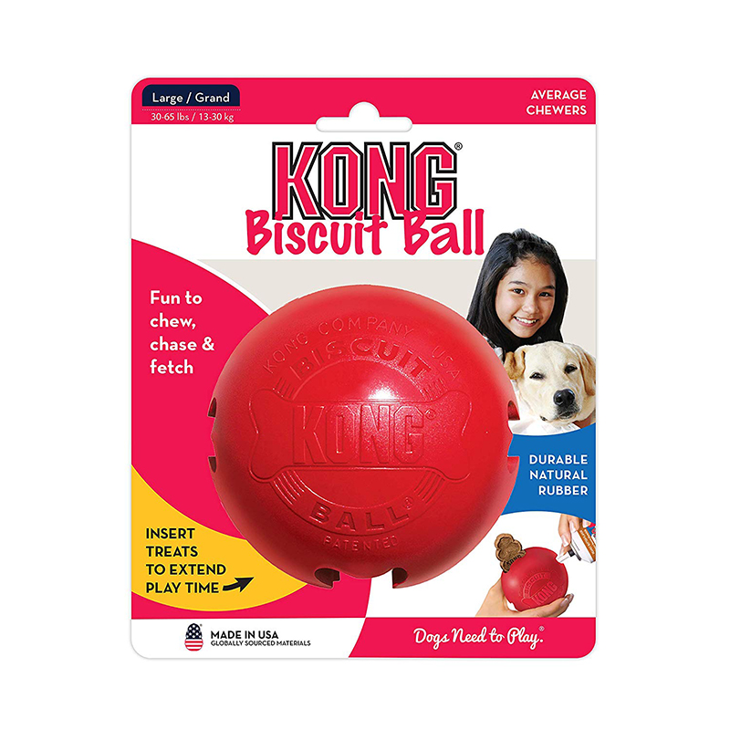 KONG® Classic Biscuit Ball Large I008268
