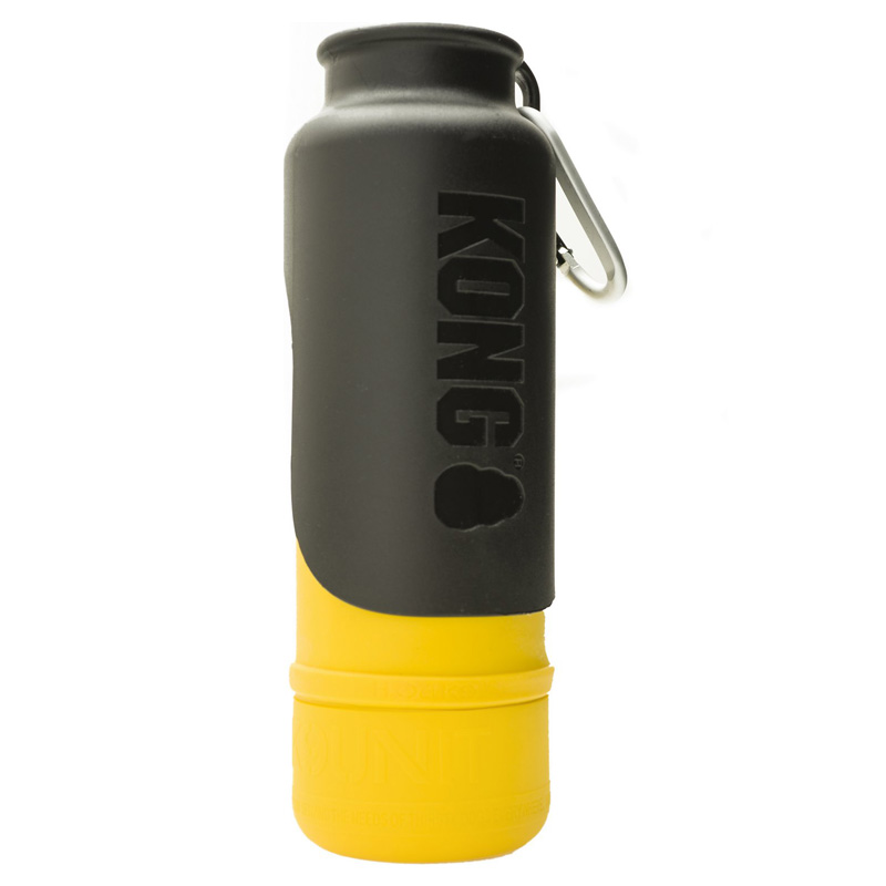 KONG H2O Stainless Steel Insulated Dog Water Bottle Yellow 25 oz. I018207