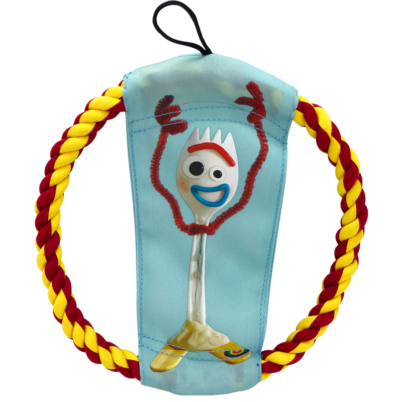 Hyper Pet Toy Story 4 Woody & Forky Rope Flyer