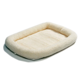 MidWest® Quiet Time™ Bed Natural Sheepskin 45731e