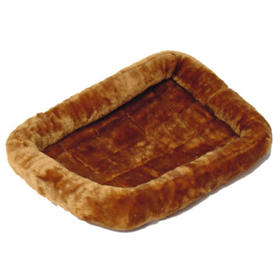 MidWest® Quiet Time™ Bed Cinnamon Fur 45733b