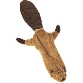 Spot® Skinneeez™ No Stuffing Plush Dog Toys Beaver			 621512