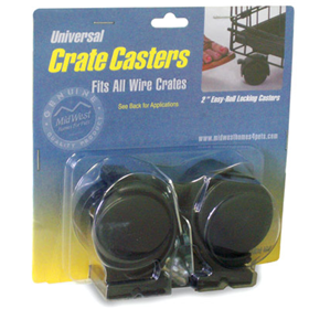 Universal Crate Casters 2 Pack 0636