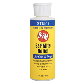 R-7 Ear Mite Relief 4 oz. 7555