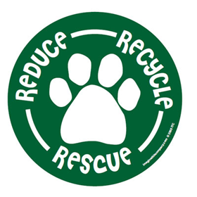 Paw Magnets Reduce, Recycle, Rescue 29058