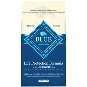 Blue Buffalo BLUE™ Senior Chicken & Brown Rice Recipe Dog Food 7820620b