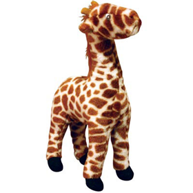 VIP Mighty® Toys Safari Jr. Giraffe-Gina Plush Dog Toy 618262