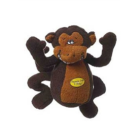 Multipet Deedle Dude Singing Monkey Dog Toy 63823