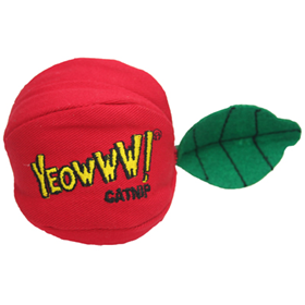 Yeowww!® Apple Catnip Cat Toy 73232
