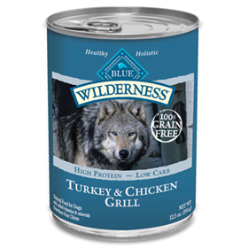 Blue Buffalo Wilderness Turkey & Chicken Grill 12.5 oz. 7820640