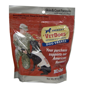 Bil-Jac® America's VetDogs® Veteran's K-9 Corps® Dog Treats 98966