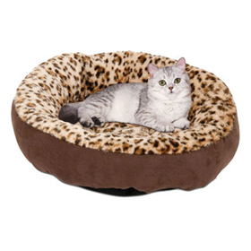 Petmate 174 Round Plush Bed 18 Quot Care A Lot Pet Supply