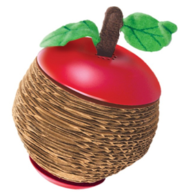 Kong® Scratch Apple Cat Toy I002479
