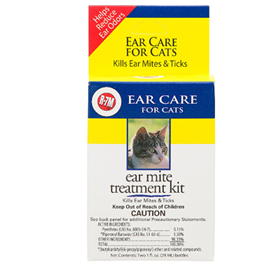 R-7M™ Ear Mite Treatment Kit for Cats I003193