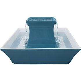 Drinkwell® Himalayan Blue Stoneware Fountain 70 oz I009594