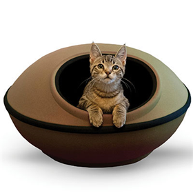 K&H Mod Dream Pod Cat Bed Tan I009890