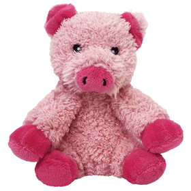 Multipet Look Who's Talking Plush Pig Dog Toy 45352