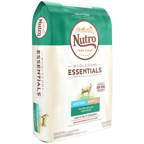 Nutro Large Breed Puppy Dry Dog Food Pasture-Fed Lamb & Rice Recipe 30lb Bag 69395