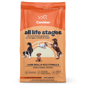 CANIDAE® All Life Stages Lamb and Rice Reformulated Dog Food 91002b