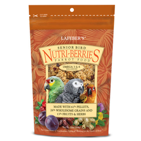 Senior Bird Nutri-Berries for Parrot 10oz. I007187