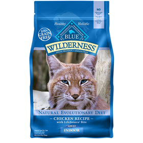 Blue Buffalo BLUE™ Wilderness™ Chicken Recipe for Indoor Cats I003320