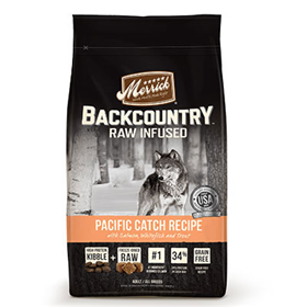 Merrick® Backcountry™ Raw Infused Pacific Catch Recipe Dog Food I008420b