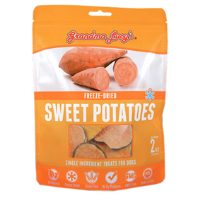 Grandma Lucy's® Freeze-Dried Sweet Potato Dog Treats 2 Oz. I011124