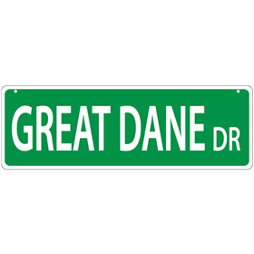 Great Dane Drive Street Sign  I011446