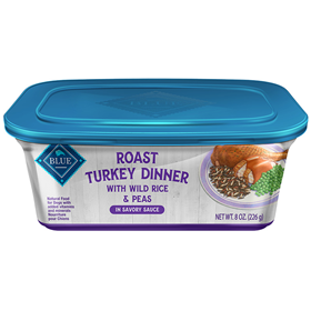 Blue Buffalo Roast Turkey Dinner Dog Food 8oz.