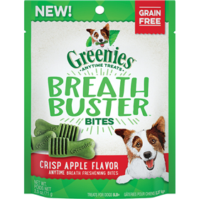 Greenies Breath Buster Bites Crisp Apple Dog Treat I014267b