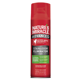 Nature's Miracle® Advanced Stain and Odor Eliminator Foam Aerosol 17.5 oz. I014458