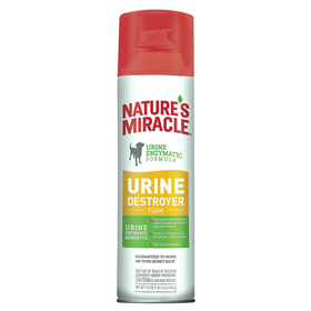 Nature's Miracle® Urine Stain & Odor Destroyer Foam Aerosol 17.5 oz. I014961