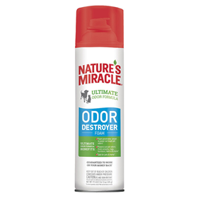Nature's Miracle® Stain & Odor Destroyer Foam Aerosol 17.5 oz. I014962