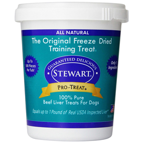 Stewart Pro-Treat Freeze Dried Beef Liver Treats
