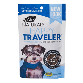 Ark Naturals® Happy Traveler® All Natural Calming Products Bite Size Soft Chews 75 ct.  I002385
